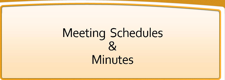 Township Meeting Schedule & Minutes